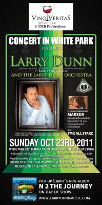 Concert in White Park with Larry Dunn